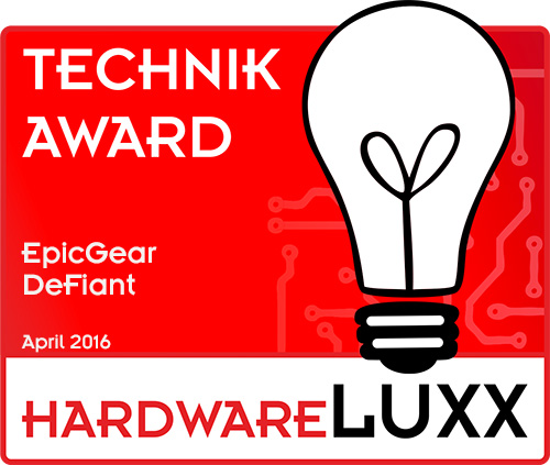 HardwareLuxx-Technik Award